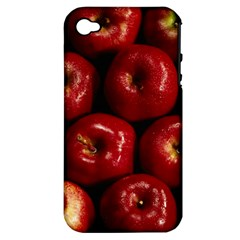 Apples 2 Apple Iphone 4/4s Hardshell Case (pc+silicone)