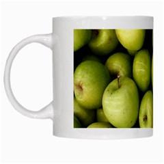 Apples 3 White Mugs