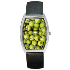 Apples 3 Barrel Style Metal Watch