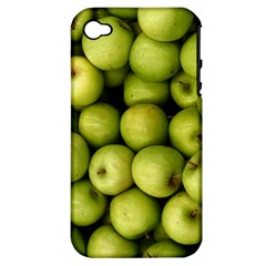 Apples 3 Apple Iphone 4/4s Hardshell Case (pc+silicone)