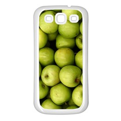 Apples 3 Samsung Galaxy S3 Back Case (white)