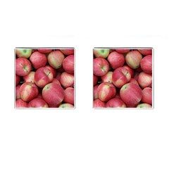 Apples 5 Cufflinks (square)