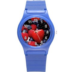 Berries 1 Round Plastic Sport Watch (s)