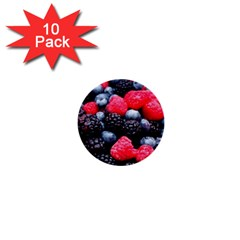 Berries 2 1  Mini Buttons (10 Pack)