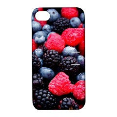 Berries 2 Apple Iphone 4/4s Hardshell Case With Stand
