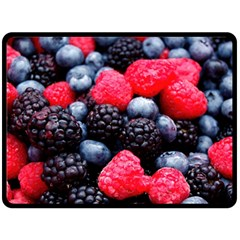 Berries 2 Double Sided Fleece Blanket (large)