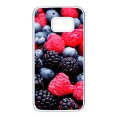 Berries 2 Samsung Galaxy S7 White Seamless Case