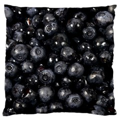 Blueberries 1 Large Cushion Case (one Side)