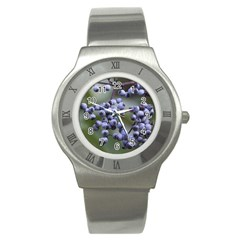 Blueberries 2 Stainless Steel Watch
