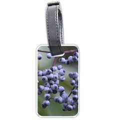 Blueberries 2 Luggage Tags (two Sides)