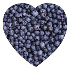 Blueberries 3 Jigsaw Puzzle (heart)