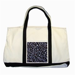 Blueberries 3 Two Tone Tote Bag