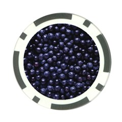 Blueberries 4 Poker Chip Card Guard (10 Pack)