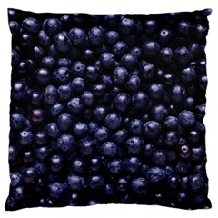 Blueberries 4 Large Cushion Case (two Sides)