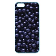Blueberries 4 Apple Seamless Iphone 5 Case (color)