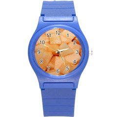 Cantaloupe Round Plastic Sport Watch (s)
