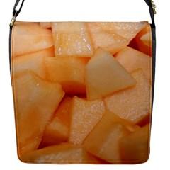 Cantaloupe Flap Messenger Bag (s)