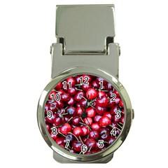 Cherries 1 Money Clip Watches