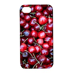 Cherries 1 Apple Iphone 4/4s Hardshell Case With Stand