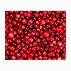 Cranberries 2 Small Glasses Cloth