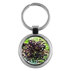 Elderberries Key Chains (round)