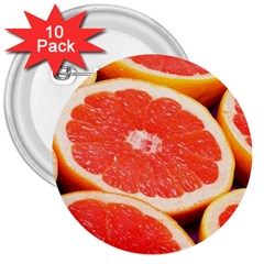 Grapefruit 1 3  Buttons (10 Pack)