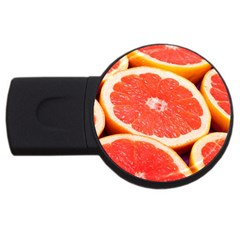 Grapefruit 1 Usb Flash Drive Round (2 Gb)