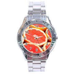 Grapefruit 1 Stainless Steel Analogue Watch