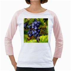 Grapes 1 Girly Raglans