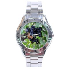 Grapes 3 Stainless Steel Analogue Watch