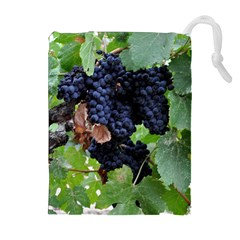 Grapes 3 Drawstring Pouches (extra Large)