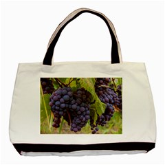 Grapes 4 Basic Tote Bag (two Sides)