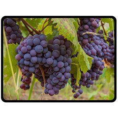 Grapes 4 Fleece Blanket (large)