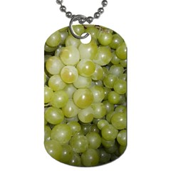 Grapes 5 Dog Tag (two Sides)