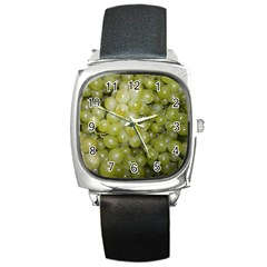 Grapes 5 Square Metal Watch