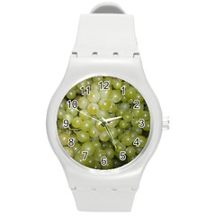 Grapes 5 Round Plastic Sport Watch (m)