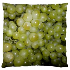 Grapes 5 Large Flano Cushion Case (two Sides)
