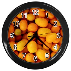 Kumquat 1 Wall Clocks (black)