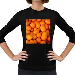 Kumquat 2 Women s Long Sleeve Dark T Shirts