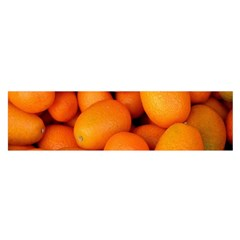 Kumquat 2 Satin Scarf (oblong)