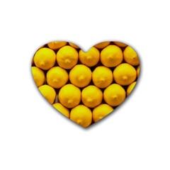 Lemons 1 Heart Coaster (4 Pack)