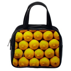 Lemons 1 Classic Handbags (one Side)