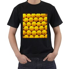 Lemons 1 Men s T Shirt (black)