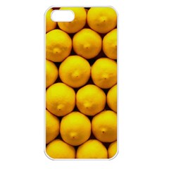 Lemons 1 Apple Iphone 5 Seamless Case (white)