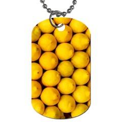 Lemons 2 Dog Tag (two Sides)