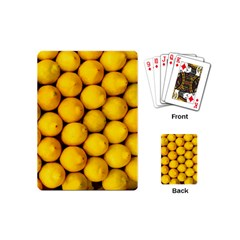 Lemons 2 Playing Cards (mini)
