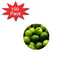 Limes 1 1  Mini Buttons (100 Pack)