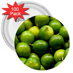 Limes 1 3  Buttons (100 Pack)