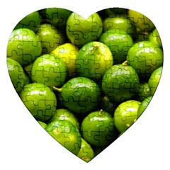 Limes 1 Jigsaw Puzzle (heart)