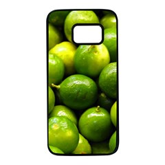 Limes 1 Samsung Galaxy S7 Black Seamless Case